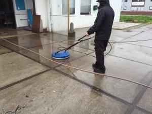 Vloer reinigen